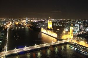 Big Ben from London Eye by GoncaloCarvalho
