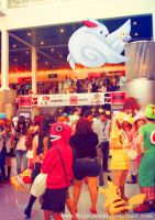 Wild Pokemon Anime Expo 2013 Main Entrance by Ninja-Jamal