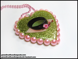 Matcha Lover's Necklace by GrandmaThunderpants