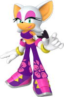 Rouge (Sonic Boom Style) by Silverdahedgehog06