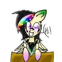 MLP FIM: Drawing Music Stain in Rainbow Power by DrawinStain