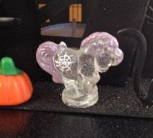 Gossamer My Little Pony Petite Halloween GitD by mermaid-splash