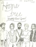 Home Free for the holidays by dippythesquid