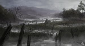 The Marshland by W-E-Z