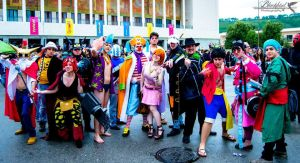 One Piece Group from Comicon 2014! by NamiTheQueen13