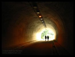 Tunnel Hikers by AndrewMarston