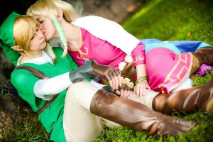 Link + Zelda - Skyward Sword by RoteMamba