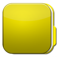 Droid Folder Yellow by fandvd