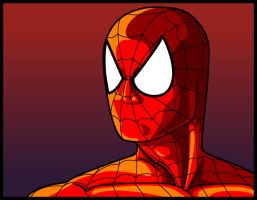 Spider-man Vector by thelearningcurv