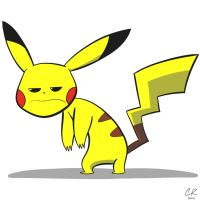 Pikachu is sick of Ashes crap by ApothecaryAphid