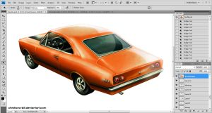 Painting a Chevy Opala SS by christiano-bill