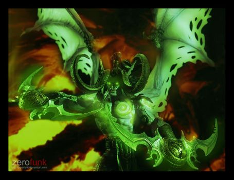 Illidan Stormrage by zerofunk