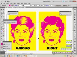 Trying to make a stencil by roberlan