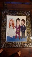 Wedding caricature by Luineannon