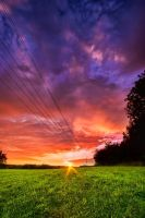 Magical sky @ sunset by JoInnovate