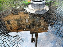 Water mirror by TheLittleCrow