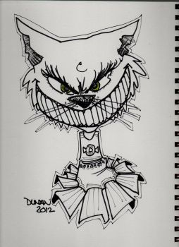 wicked kitty by duncanclay