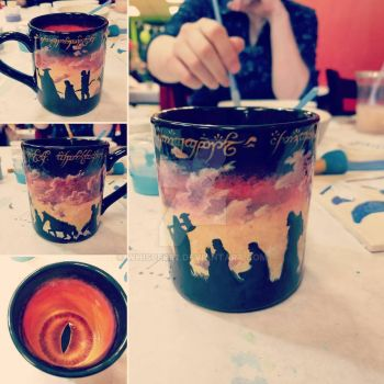 The One Mug To Rule Them All: Post Firing by whisper92