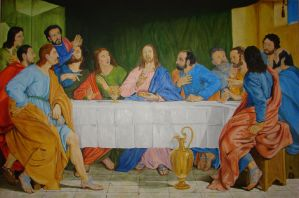 Last Supper by halupka