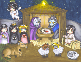 Away in a Manger... by Miina-san