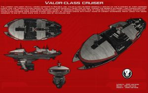 Valor-class cruiser ortho [New] by unusualsuspex