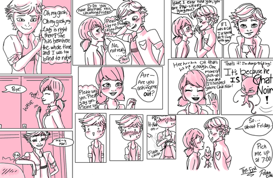 'Pickup Lines' Miraculous Ladybug comic by PatchedUpArtist