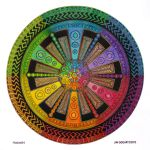 Mandala drawing 43 - Collaboration by Mandala-Jim