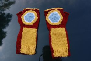 Iron Man Gloves by rjccj