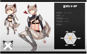 LEVEL-x-UP - [Zen Lowell] by DarknedStar