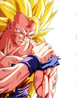 Goku Sjj 3 Png by PauloEditions