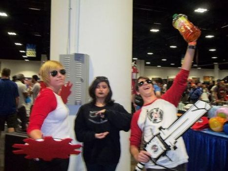 Comic Con 2014 - Dave x2 and Karkles~ by TrixyMuffin1399