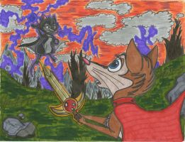 Brisby's Final Battle by SegaDisneyUniverse