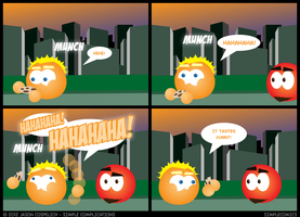 SC313 - Eating a Cookie by simpleCOMICS