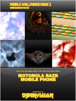 Mobile Wallpaper Pack I by CyberwasteFX