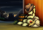 Braeburn Dozing Off by BuizelCream