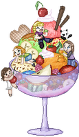 ice cream by Firefree