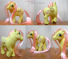 MLP Custom: G1 Fluttershy by MohawkMax
