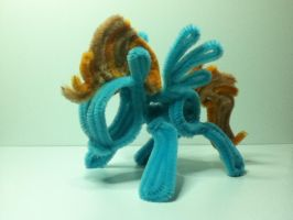 MLP FIM Pipe Cleaner Lightning Dust by Caps-Arts-n-Crafts