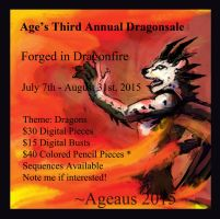 Age's Dragonsale 2015: Forged In Dragonfire by Ageaus