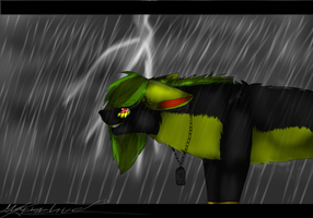 .:CE SaphirCrystal- In the Rain:. by Keshvel