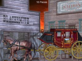 Old West Part 1 by oldhippieart