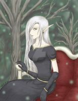 Queen of the Dark Wood - color by theLostSindar