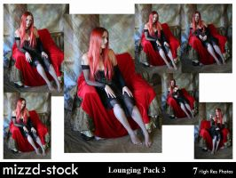 Lounging Pack 3 by mizzd-stock