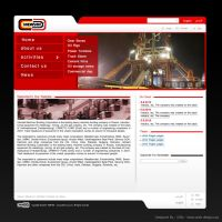 Company website by grfixds