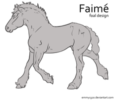 *NEW* Faime Foal Design Lines by emmy1320