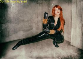 Black Widow Cosplay from Secret Avengers by St3phBot