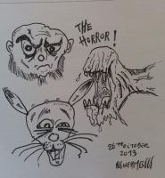 The horror ! by 666inflames666