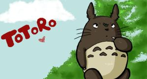 Totoro by Sohilicious
