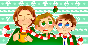 Merry Christmas - SPN by M0nzteer
