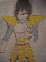 Vegeta-Its over 9000!!!! by Nulgath1998